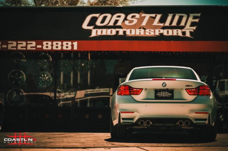 Coastline Motorsport Showroom Storefront
