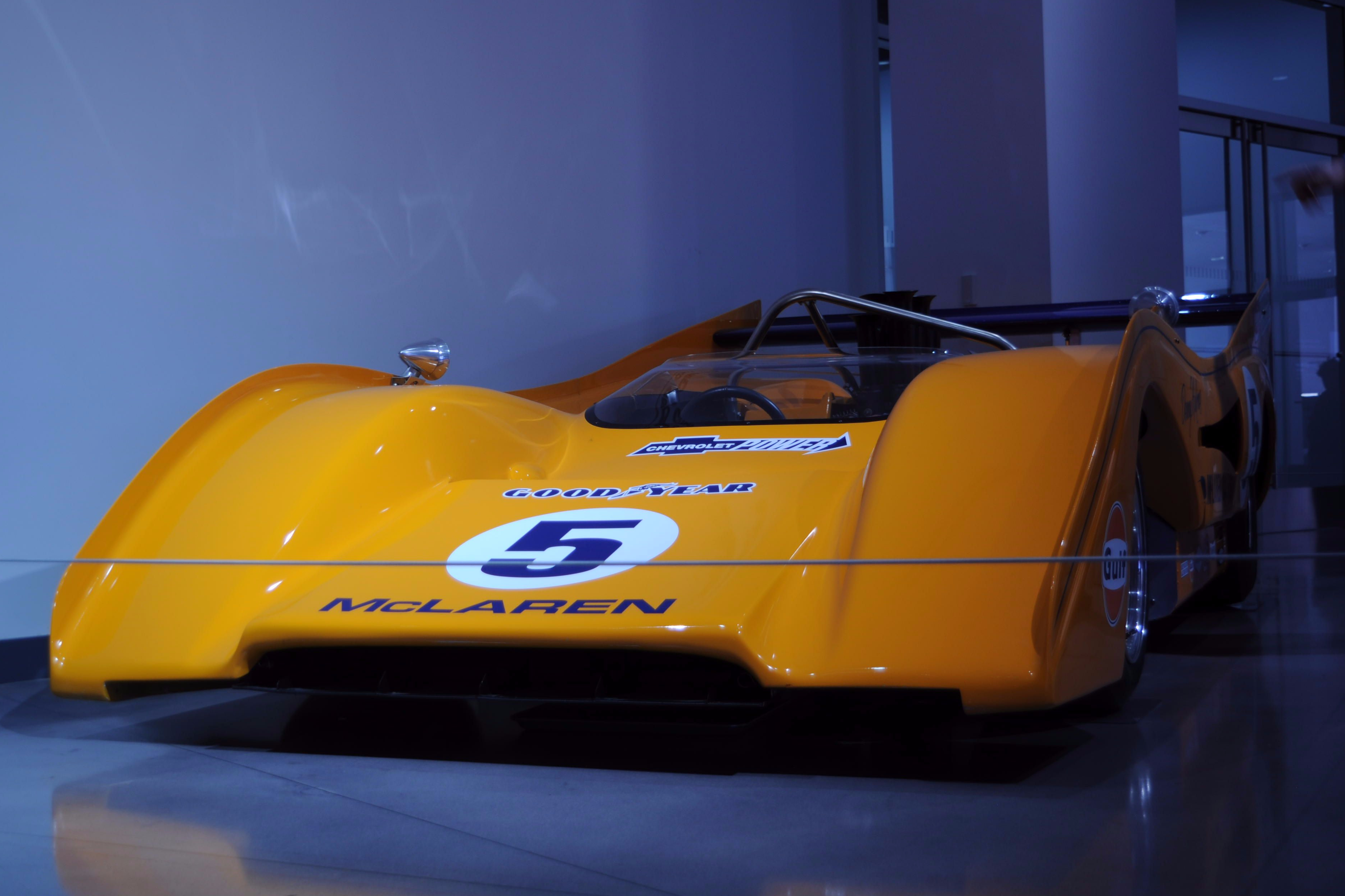 1971 McLaren Can-Am Racecar at Petersen Museum