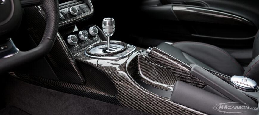 Custom Carbon Fiber Interior for Audi by MACarbon
