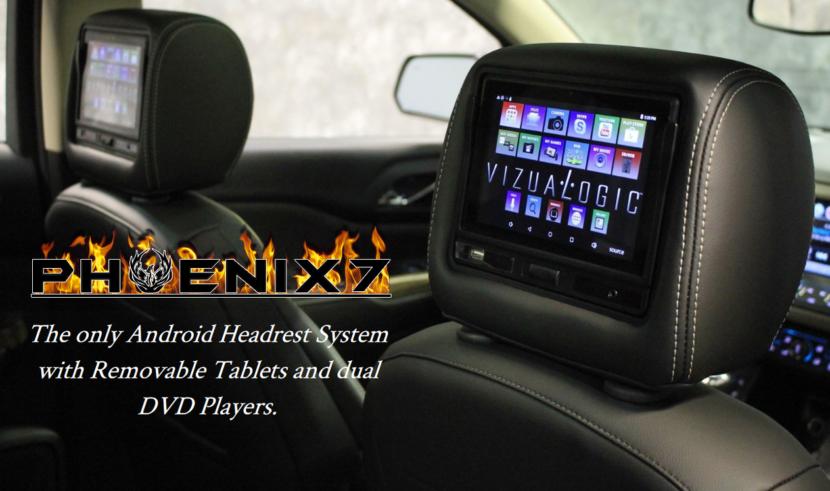 Phoenix 7 Headrest Tablets