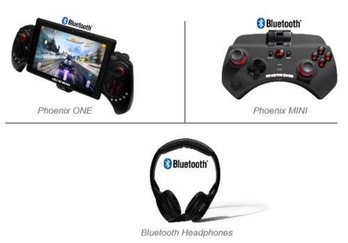 Phoenix 7 Headrest Tablet Accessories
