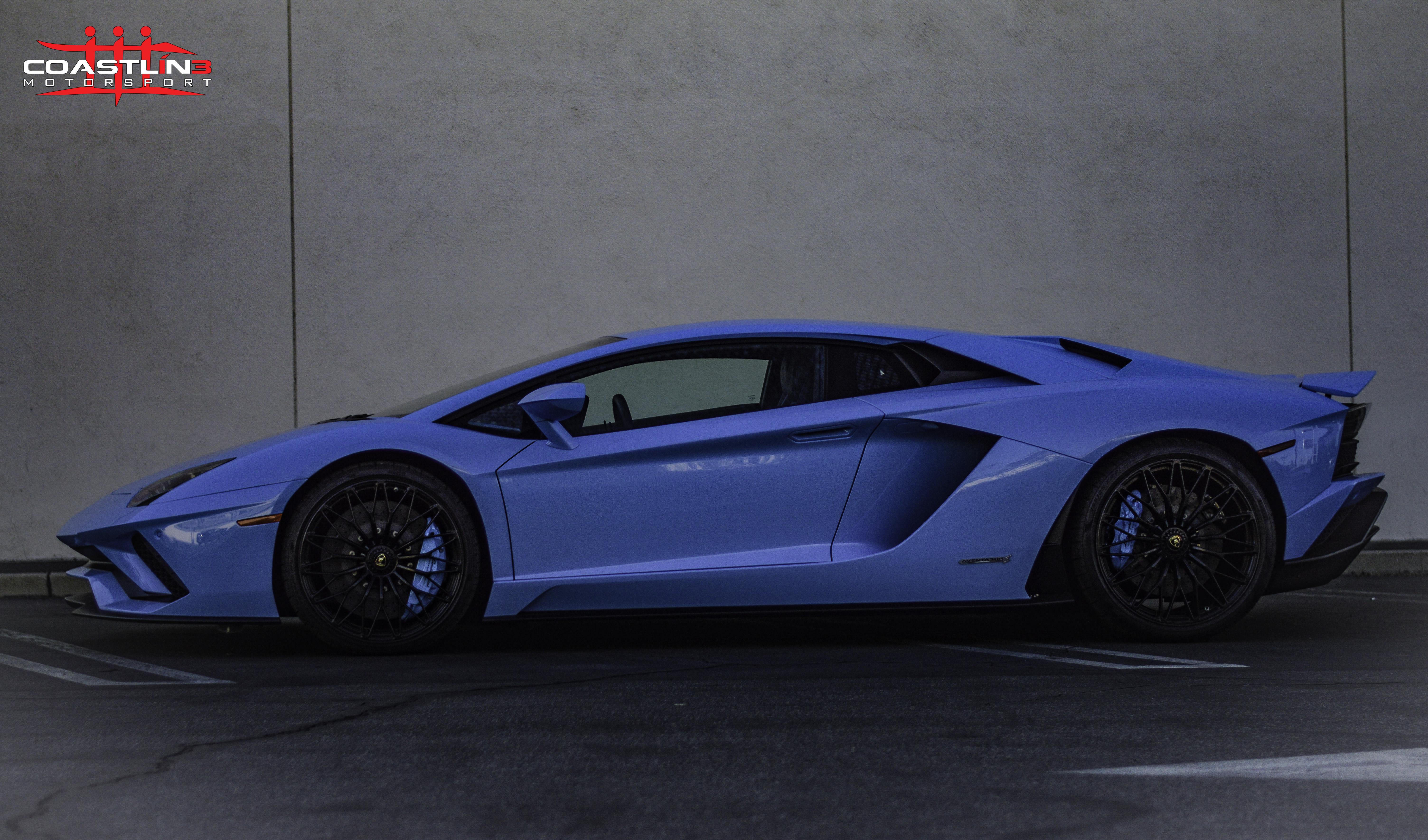 Lamborghini Aventador S w/ Paint Matched Brake Calipers
