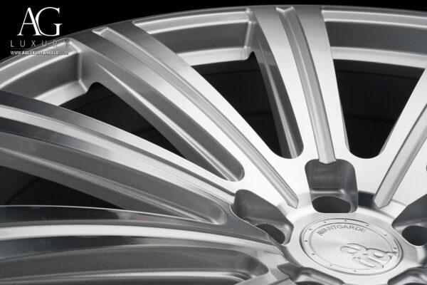 Avant Garde Monoblock Flow Form Vanguard Machined Silver