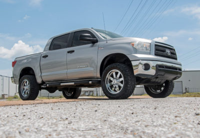 """Rough Country 4"""" Lift for Toyota Tundra Installed"""